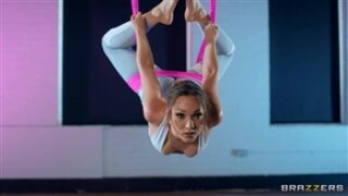 Brazzers Aerial Downward Doggystyle with Danny D. and Lily Labeau in Brazzers Exxtra